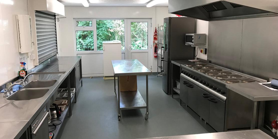 Kitchen at Norton Village Hall