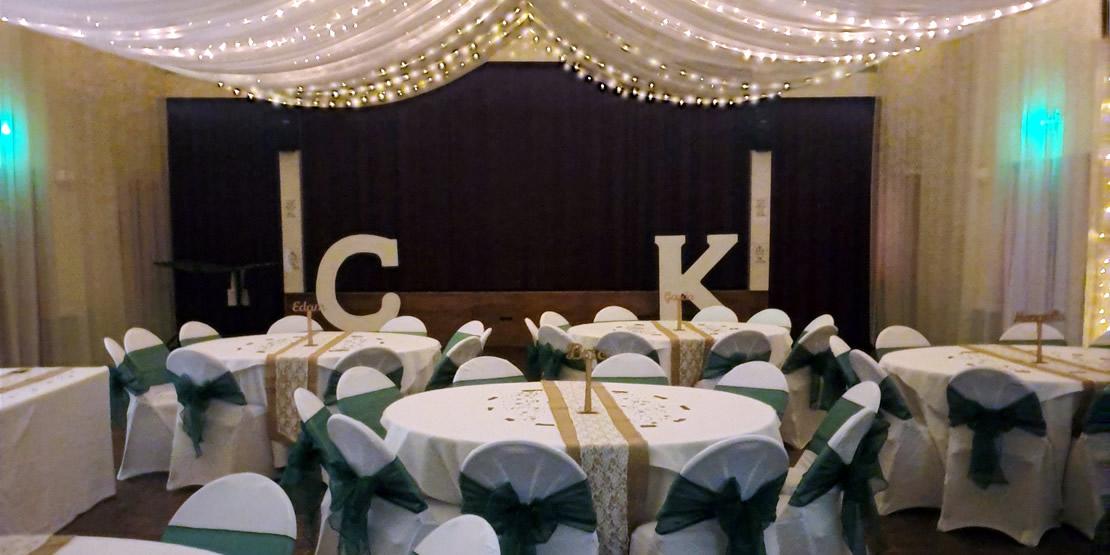 Wedding celebration at Norton Village Hall (1)