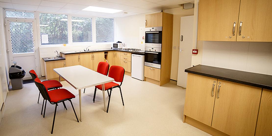 Kitchen at Plymstock Community Centre